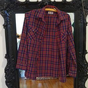 {vintage} flannel